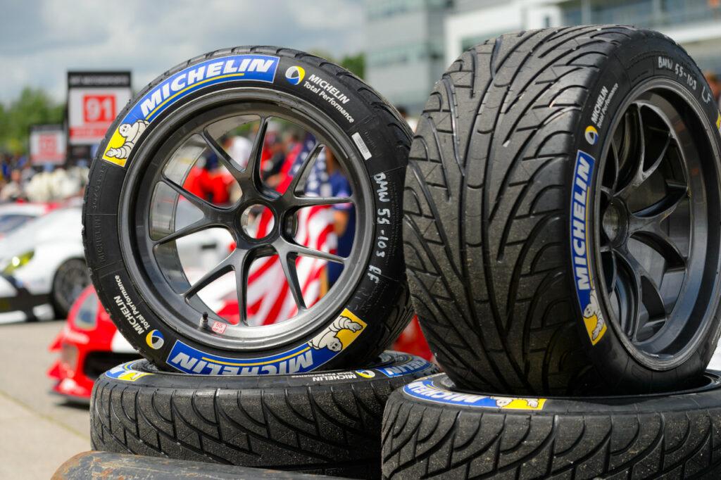 Jantes BBS Motorsport avec pneus Michelin