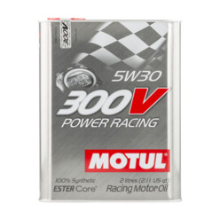 Huile Motul 300V Power Racing 5W30 (2L)