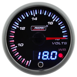"Mano-Voltmètre ""Dual Display"" ProSport JDM (60 mm)"