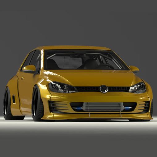 Kit Carrosserie Pandem Pour Volkswagen Golf 7 Revendeur