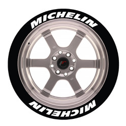 Stickers Michelin, Marquage Pneu Permanent