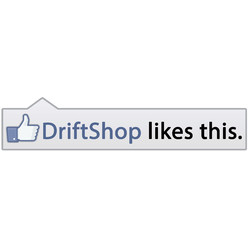 "Sticker ""DriftShop likes this"""