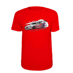 T-Shirt DriftShop S15 LikeHell Design - Rouge