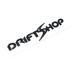 Sticker DriftShop Noir