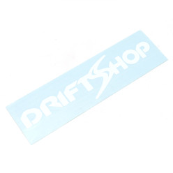 Sticker DriftShop Blanc
