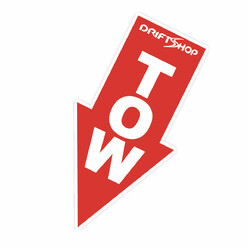 Sticker DriftShop TOW 8 cm