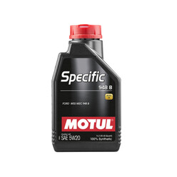 1L Huile Motul 5W20 Specific 948B (Ford Eco-Boost, Jaguar, Chrysler, Jeep)