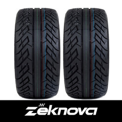 Pneus Semi-Slicks Zeknova SuperSport RS 195/50ZR15 - TW240 (la paire)