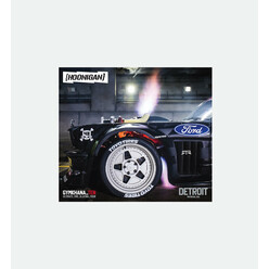 Sticker Hoonigan Detroit Unicorn