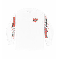 T-Shirt Manches Longues Hoonigan Speedway - Blanc