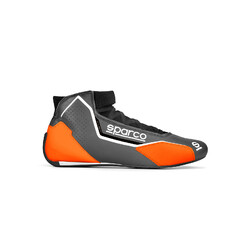 Bottines Sparco X-Light Grises & Orange (FIA)
