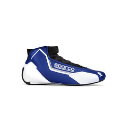 Bottines Sparco X-Light Bleues & Blanches (FIA)