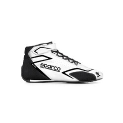 Bottines Sparco Skid Blanches (FIA)
