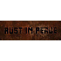 Sticker DriftShop Rust In Peace