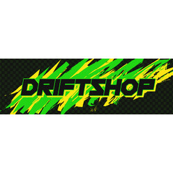"Sticker DriftShop 80's ""Green"""