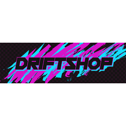 "Sticker DriftShop 80's ""Pink"""