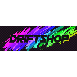 "Sticker DriftShop 80's ""Rainbow"""
