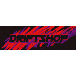 "Sticker DriftShop 80's ""Red"""