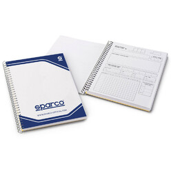 Carnet de Notes pour Copilote Sparco