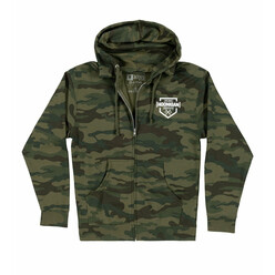Sweat Zippé à Capuche Hoonigan Bracket X - Camo