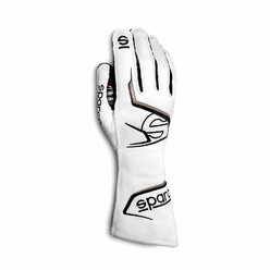 Gants Sparco Arrow Blancs & Gris (FIA)