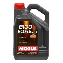5L Huile Motul 5W30 8100 Eco Clean (PSA HDI FAP)