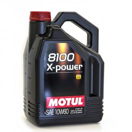 5L Huile Motul 10W60 X-Power