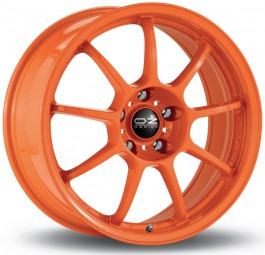 "OZ Alleggerita HLT 17x7"" 4x100 ET44, Orange"