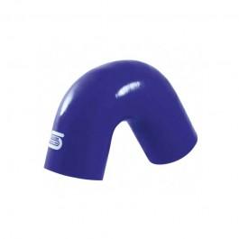 Coude 135° Silicone 16 à 76 mm - Bleu