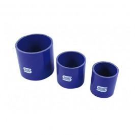 Manchon Droit en Silicone 51 à 127 mm - Bleu