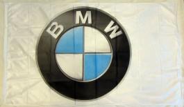 Drapeau BMW Blanc