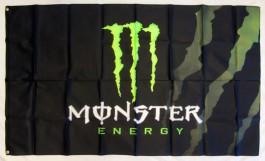 Drapeau Monster Energy