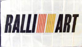 Drapeau Ralliart (90x150cm)