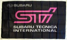Drapeau Subaru STI