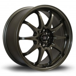 "Rota Fighter 17x8"" 5x100/114.3 ET48, Bronze Brillant"