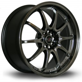"Rota Fighter 18x8.5"" 5x100/114.3 ET30, Hyper Black"