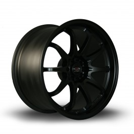"Rota Fighter 18x9.5"" 5x100/114.3 ET35, Noir Mat / Satiné"