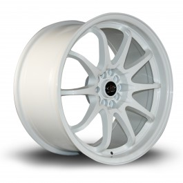 "Rota Fighter 18x9.5"" 5x100/114.3 ET35, Blanc"