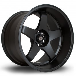 """Rota GTR-D 18x12"""" 5x114.3 ET0, Noir Mat / Satiné"""