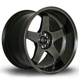 """Rota GTR-D 18x12"""" 5x114.3 ET20, Hyper Black"""