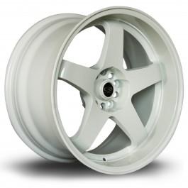 "Rota GTR-D 18x9.5"" 5x114.3 ET12, Blanc"