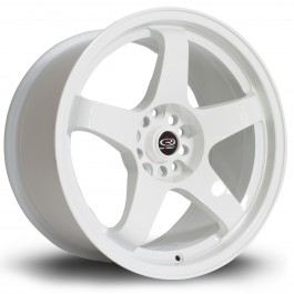 "Rota GTR 17x9"" 4x114.3 ET25, Blanc"