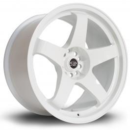 "Rota GTR 18x9.5"" 5x114.3 ET12, Blanc"