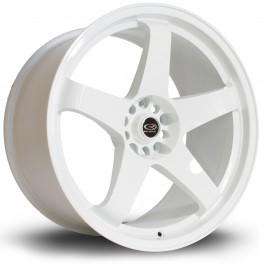 "Rota GTR 19x10"" 5x114.3 ET20, Blanc"
