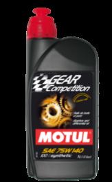 Huile de Boîte et Pont Motul Gear Compétition 75W140