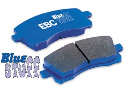 Plaquettes de Frein Avant EBC BlueStuff pour Honda Civic 1.8 VTi VTec (MB) de 1997 à 2002 (DP5872NDX)