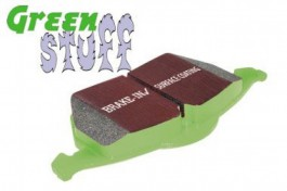 Plaquettes de Frein Avant EBC GreenStuff pour Subaru Forester 2.0 Turbo de 2004 à 2008 (DP21661)