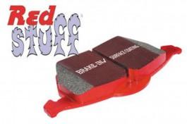 Plaquettes de Frein Avant EBC RedStuff pour Honda Civic 1.4 (MB2/ES4/EU5/EU7) de 2000 à 2006 (DP3891C)