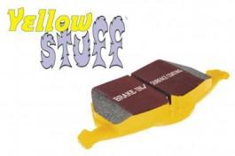 Plaquettes de Frein Arrière EBC YellowStuff pour Mitsubishi Pajero 3.8 (V98) à partir de 2006 (DP4993R)