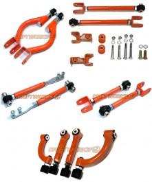 Kit Complet Tirants Réglables Driftworks pour Skyline R34 GTT